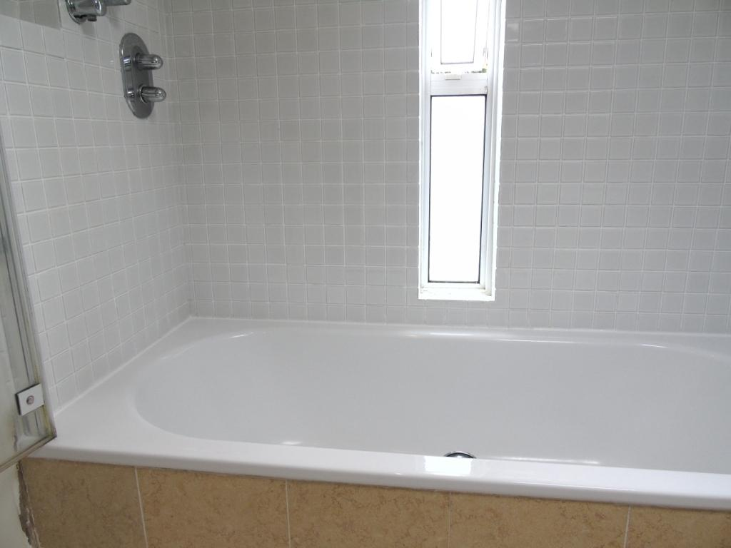 you will agree the whole bath area now looks like a new installation