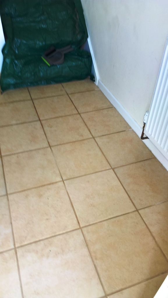 Ceramic Tiles and Grout Lines Rejuvenated in a Gloucester Hallway ...