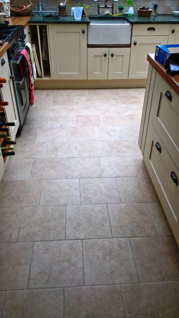 Ceramic Tiled Floor Westmancoate after cleaning