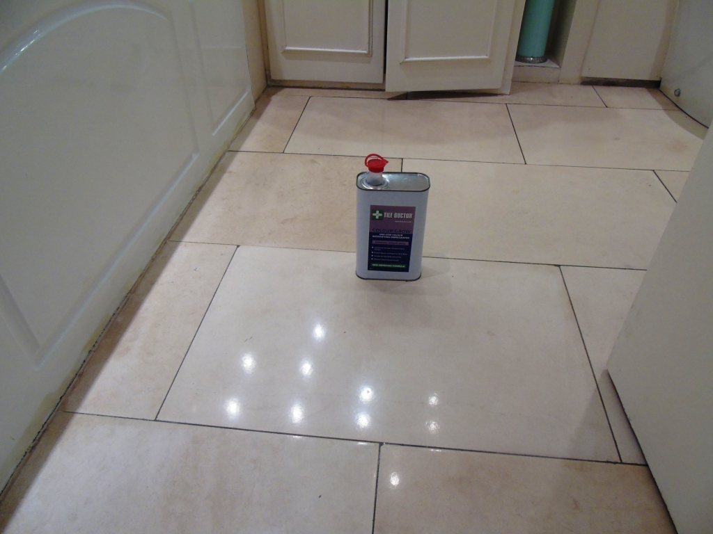 Limestone Floor Sealing Cirencester