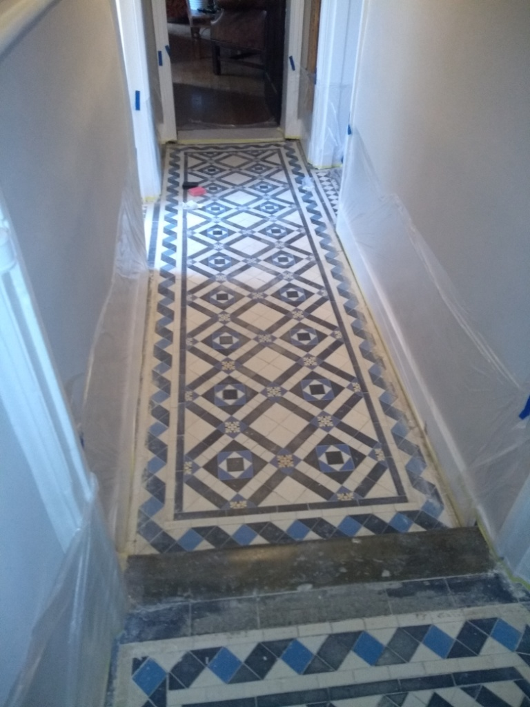 Victorian Hallway Before Renovation Gloucester