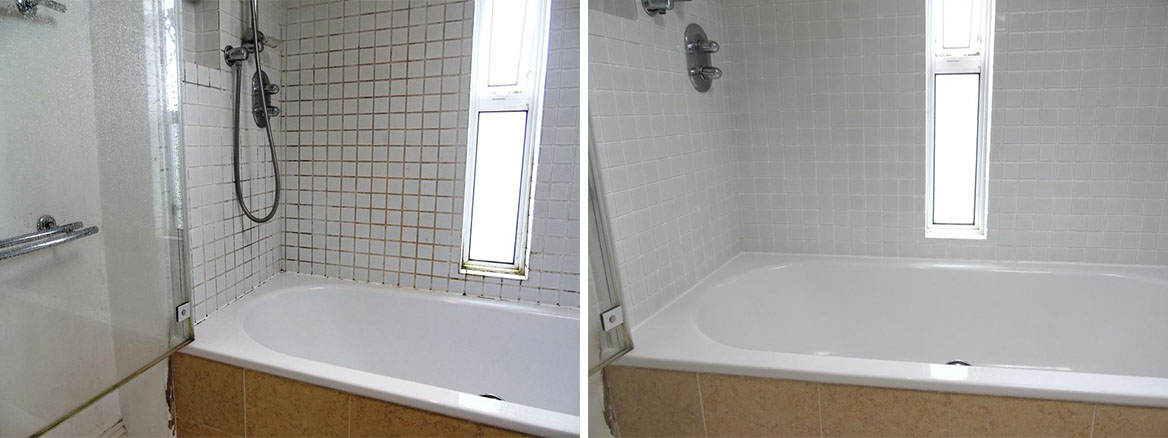 Ceramic Tiled Bathroom Refresh in Cheltenham