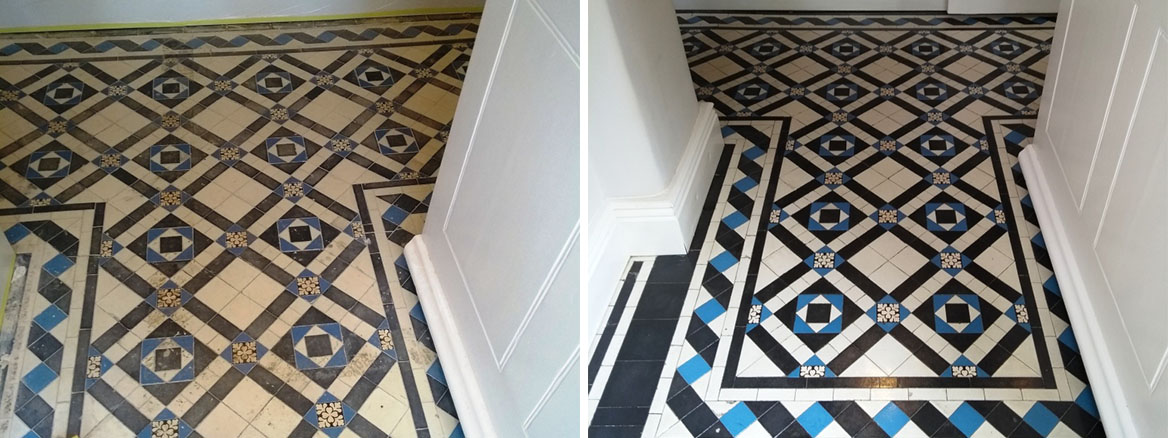Victorian Hallway Before After Renovation Gloucester